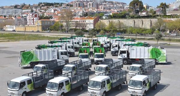 Oeiras investe mais de 2 milhões euros em viaturas de limpeza urbana