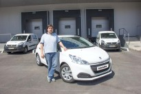Peugeot 208 Van Gasolina – onde o tempo conta