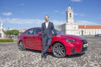 Lexus IS 300h – o despertar para as empresas