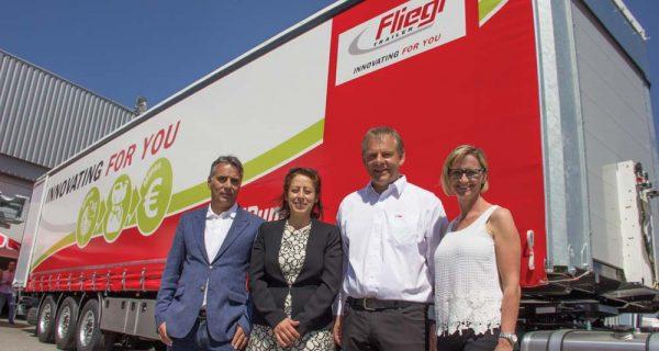 Semirreboques Fliegl com nova distribuição em Portugal