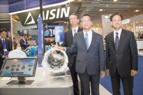 Aisin no primeiro equipamento como no pós-venda