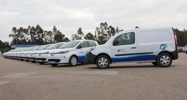 Renault – a maior entrega de elétricos em Portugal