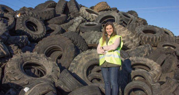 SGR – Gestão e fragmentação de pneus em fim de vida