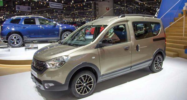 Dacia mostrou polivalência baseada no Dokker