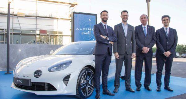 Renault renova rede e (re) lança a Alpine
