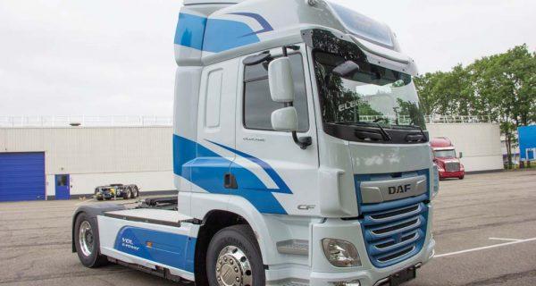DAF – camião elétrico para 40 toneladas