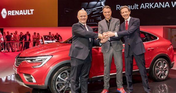 Renault ARKANA já foi revelado