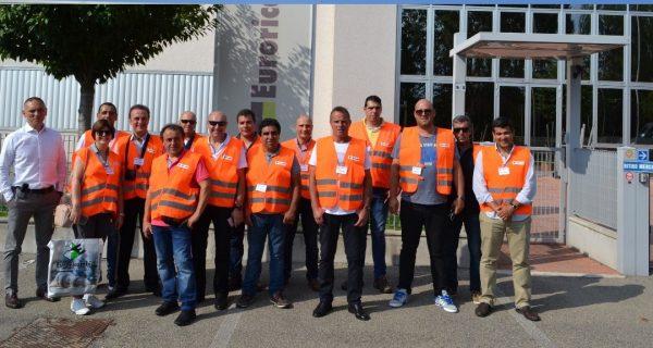 Clientes HBC visitaram Euroricambi