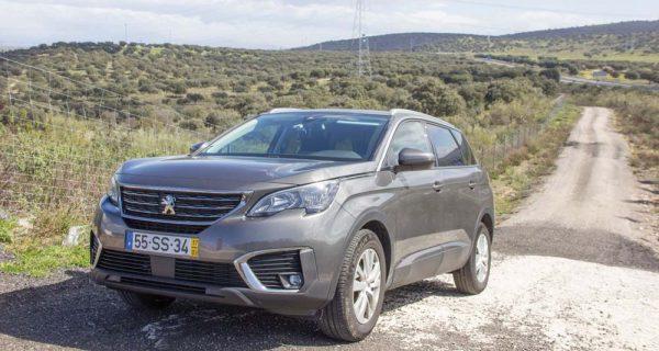Peugeot 5008 – conquistar o mercado das frotas e dos SUV