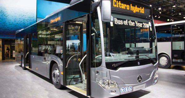 Citaro – autocarro híbrido a gasolina