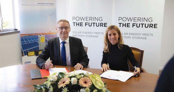Exide Technologies – unidade solar inovadora em Portugal