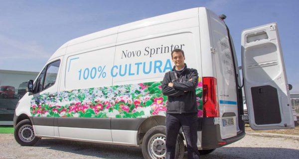 Sprinter – tração dianteira dos negócios