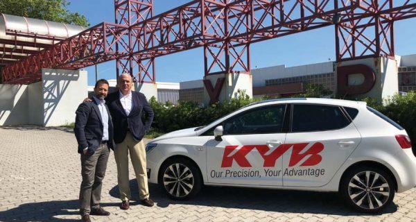 KYB – road show para promover as soluções de suspensão