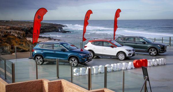 SEAT & CUPRA On Tour – uma gama completa de SUV