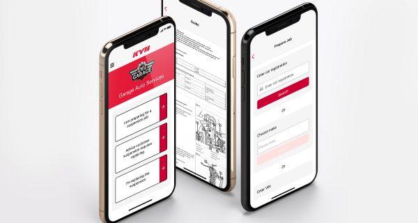KYB Suspension Solutions com novas funcionalidades