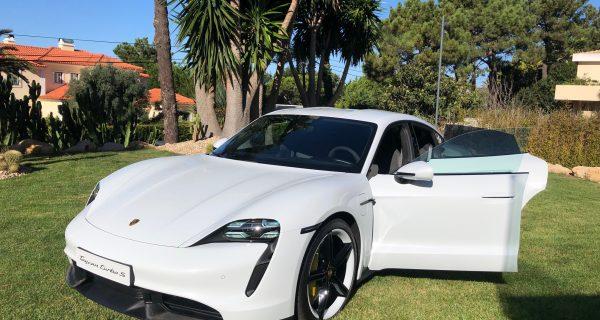 Novo Porsche Taycan chega a Portugal em dezembro