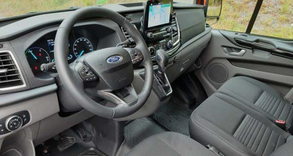 Ford Transit Custom PHEV – o furgão híbrido sem restrições
