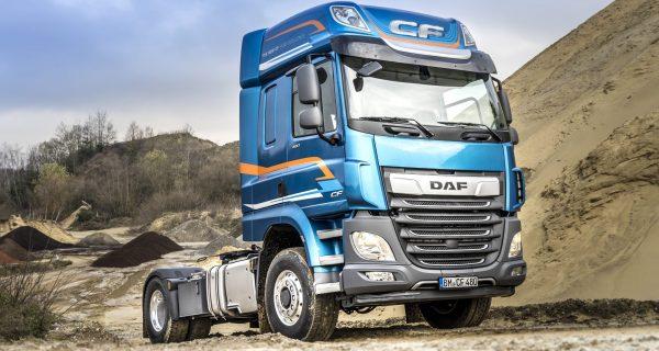 DAF CF e XF disponíveis com tração dianteira comutável