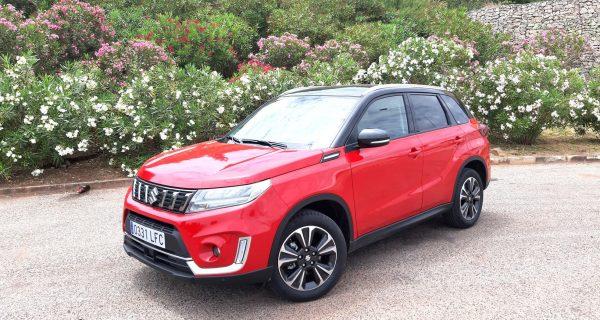Suzuki Vitara Híbrido em harmonia com ambiente frotista