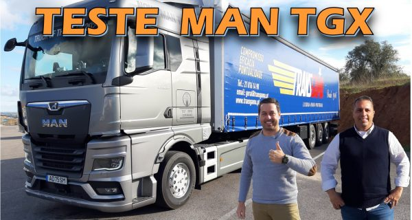 VÍDEO: Teste novo MAN TGX completo! Camião do Ano 2021