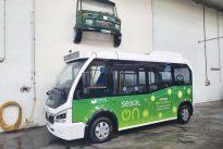 Autocarros elétricos com motor BMW