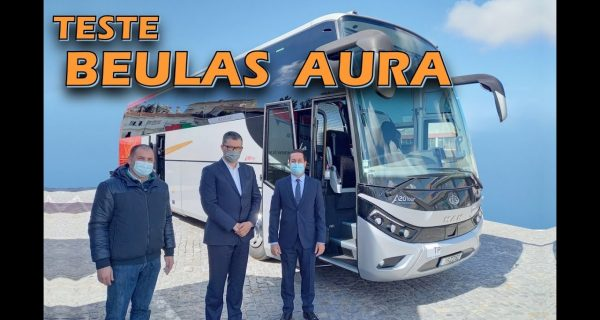 Vídeo: Testámos o novo Beulas Aura – um autocarro sublime!