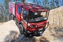 Mais Scania no combate a incêndios