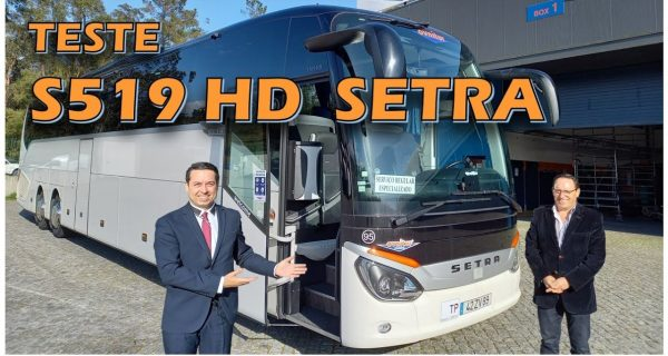 Teste Setra ComfortClass S519 HD – o gigante topo de gama da Ovnitur