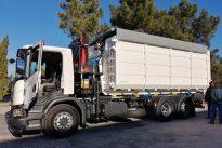 Scania na recolha de resíduos sólidos urbanos
