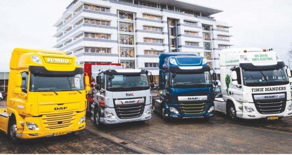 DAF supera Tesla nos camiões elétricos