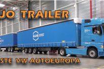 Duo Trailer – primeiro teste em Portugal na Autoeuropa com a KLOG