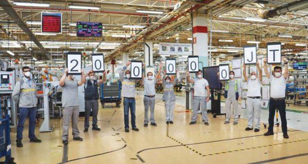 Fábrica de Renault Cacia faz história