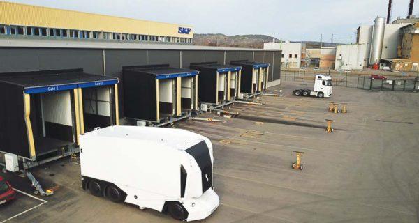 SKF quer iniciar testes de camião 100% autónomo