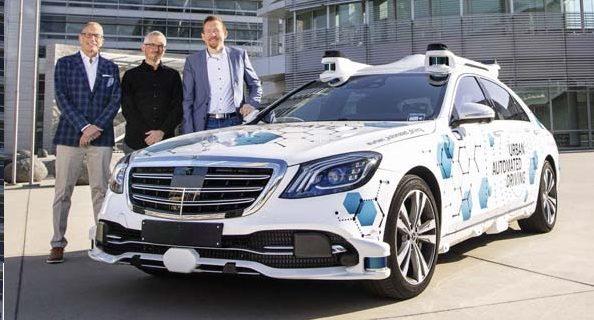 Mercedes-Benz com frota de 10 táxis a hidrogénio em Berlim
