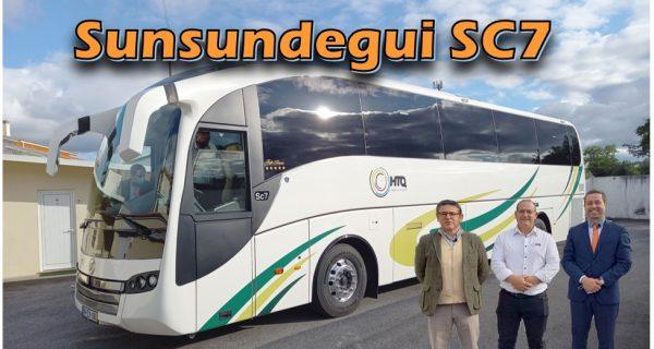 Teste Sunsundegui SC7 Scania – um autocarro diferenciado