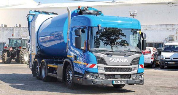 Scania – cabine baixa é preferida nas frotas de recolha urbana