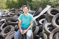 Mais de 700 pneus abandonados foram recolhidos em Caxias