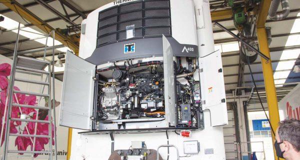 Thermo King Advancer – reduzir 30% no consumo de combustível